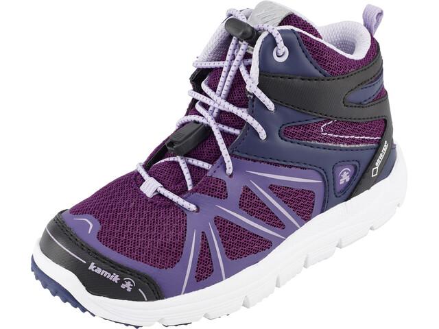 Kamik Fury HI GTX Shoes Kinder dark purple